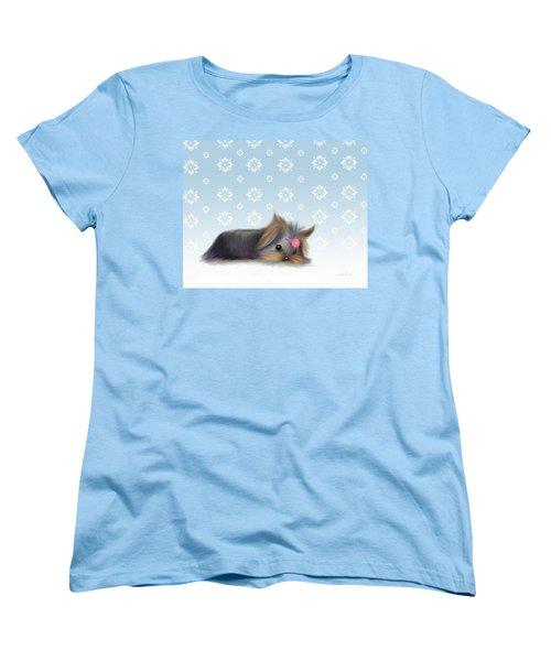 The Little Thinker  Women's T-Shirt (Standard Cut) by Catia Cho