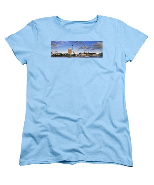 The London Eye Women's T-Shirt (Standard Cut) by Rod McLean