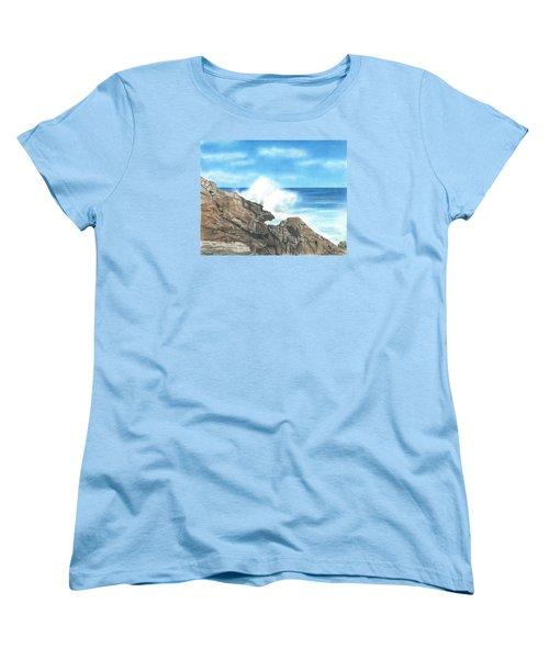 The Marginal Way Women's T-Shirt (Standard Cut) by Troy Levesque
