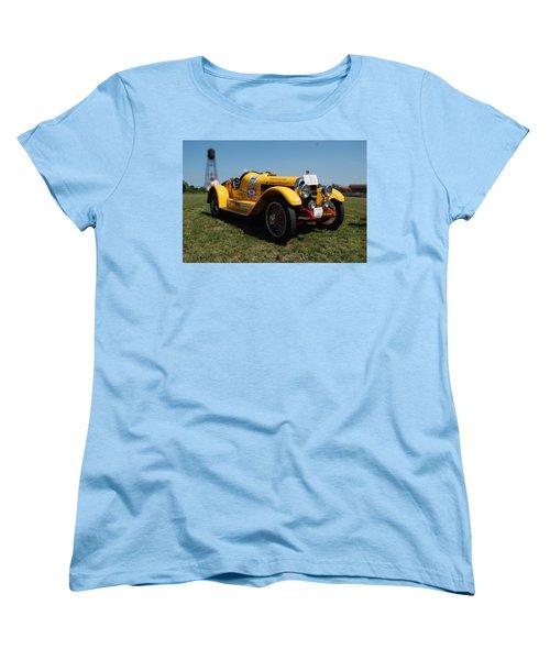 The Mercer Raceabout Roadster Women's T-Shirt (Standard Cut) by Mustafa Abdullah