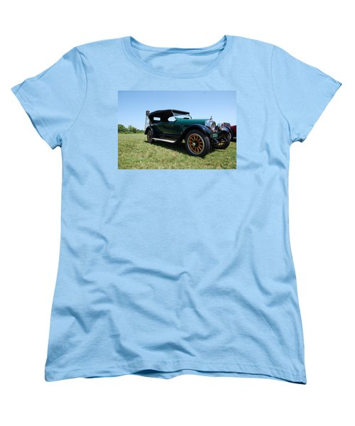 The Mercer Touring Coupe Women's T-Shirt (Standard Cut) by Mustafa Abdullah