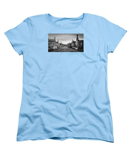 The Metairie Cemetery Women's T-Shirt (Standard Cut) by Tim Stanley
