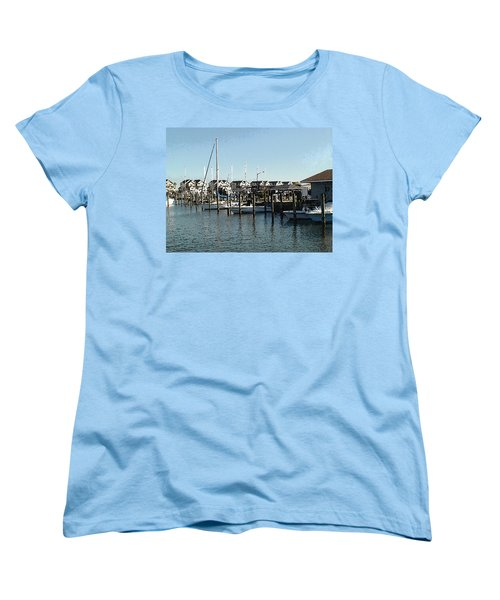 At Kent Narrows Women's T-Shirt (Standard Cut) by Charles Kraus