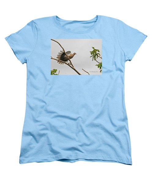 Women's T-Shirt (Standard Cut) featuring the photograph The New Dove In Town by Tom Janca
