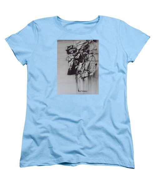 The Old Man Of The Mountain Women's T-Shirt (Standard Cut) by Sean Connolly