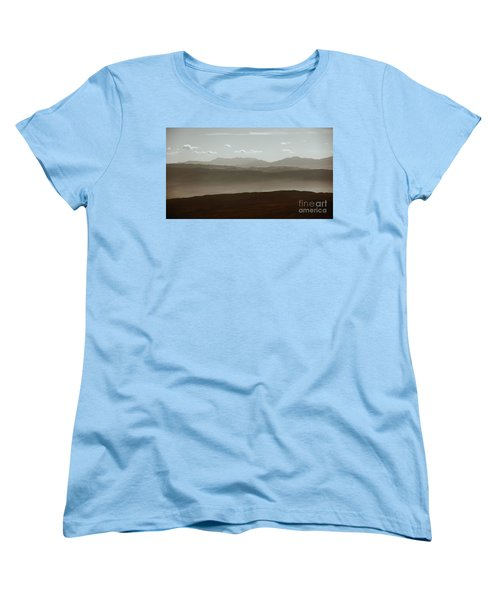 Women's T-Shirt (Standard Cut) featuring the photograph The Other Side by Dana DiPasquale