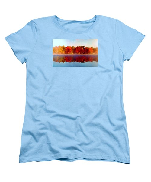 The Other Side... Women's T-Shirt (Standard Cut) by Daniel Thompson