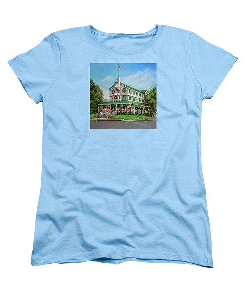 The Parker House Women's T-Shirt (Standard Cut) by Melinda Saminski