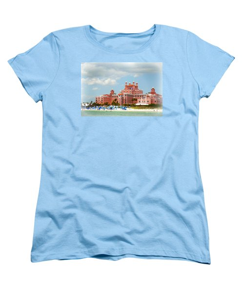 The Pink Palace Women's T-Shirt (Standard Cut) by Valerie Reeves