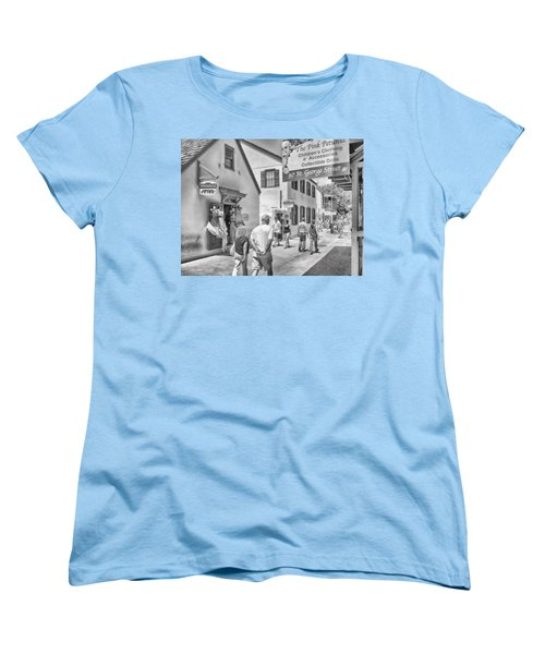 Women's T-Shirt (Standard Cut) featuring the photograph The Pink Petunia by Howard Salmon