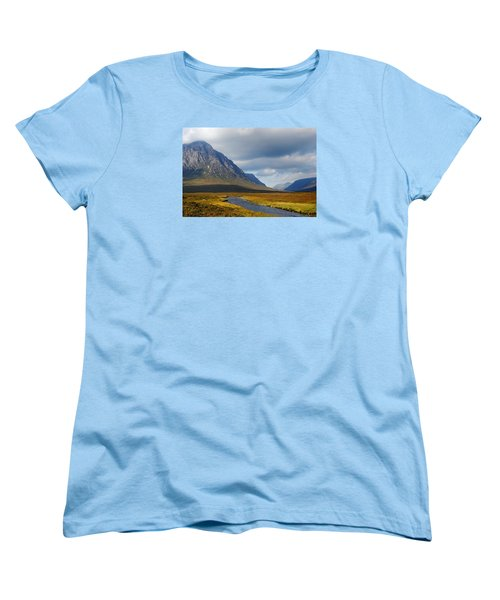 Women's T-Shirt (Standard Cut) featuring the photograph The River Runs Through It by Wendy Wilton