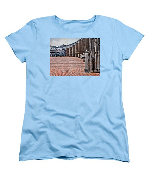 The Roundhouse Women's T-Shirt (Standard Cut) by Keith Armstrong