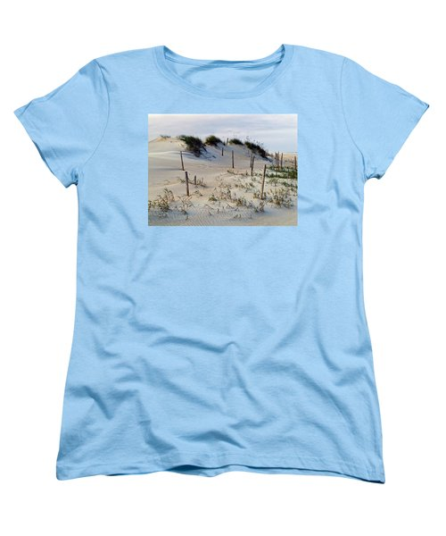 The Sands Of Obx II Women's T-Shirt (Standard Cut) by Greg Reed