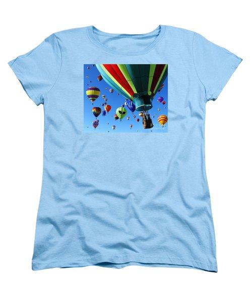 The Sky Is Full Women's T-Shirt (Standard Cut) by Vivian Christopher