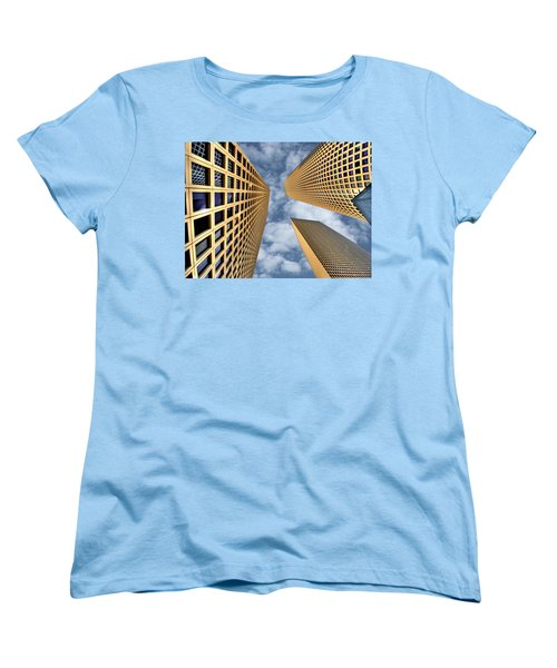 The Sky Is The Limit Women's T-Shirt (Standard Cut) by Ron Shoshani