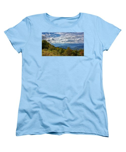 The Smokys Women's T-Shirt (Standard Cut) by Rob Sellers
