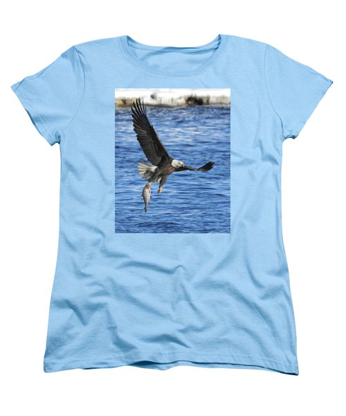 Women's T-Shirt (Standard Cut) featuring the photograph The Spoils by Coby Cooper