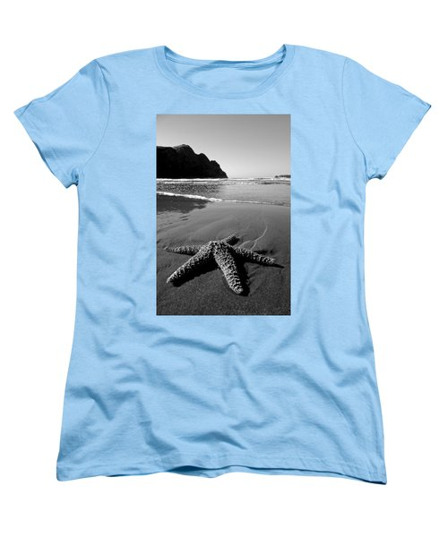 The Starfish Women's T-Shirt (Standard Cut) by Peter Tellone