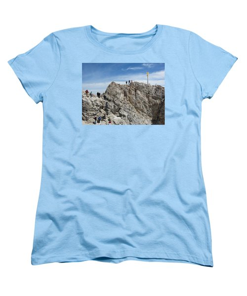 Women's T-Shirt (Standard Cut) featuring the photograph The  Summit - 1 by Pema Hou