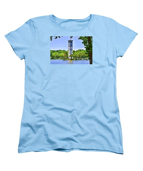 Women's T-Shirt (Standard Cut) featuring the photograph The Tower by Larry Bishop