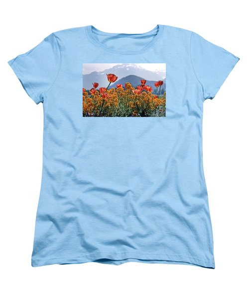 The Tulips In Bloom Women's T-Shirt (Standard Cut) by KG Thienemann