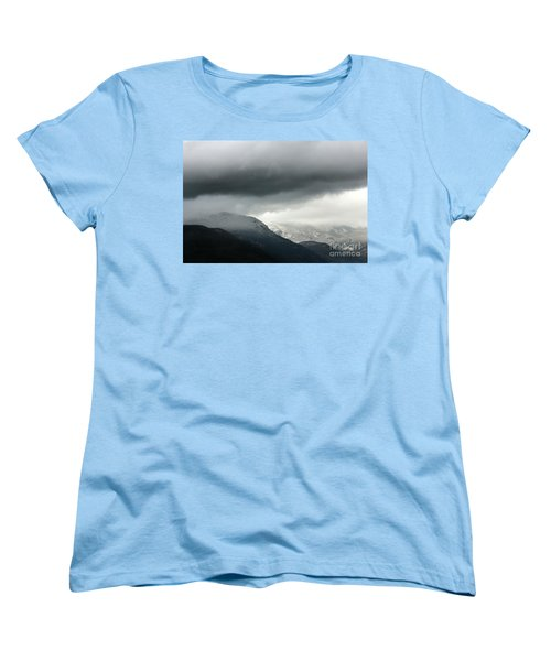 Women's T-Shirt (Standard Cut) featuring the photograph The Valley by Dana DiPasquale