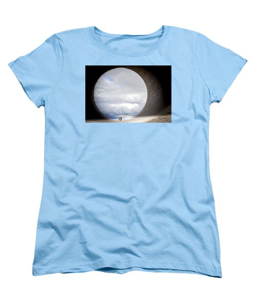 The View Above Women's T-Shirt (Standard Cut) by Fran Riley