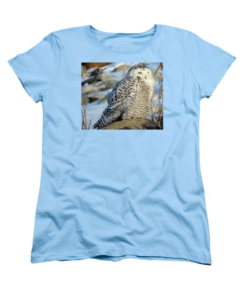 The Watcher Women's T-Shirt (Standard Cut) by Marcia Lee Jones