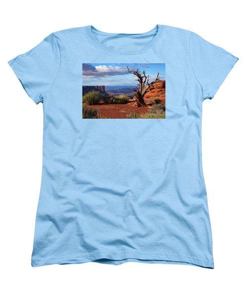 The Watchman Women's T-Shirt (Standard Cut) by Jim Garrison
