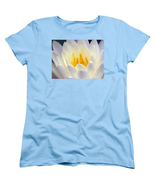Women's T-Shirt (Standard Cut) featuring the photograph The Water Lilies Collection - 11 by Pamela Critchlow