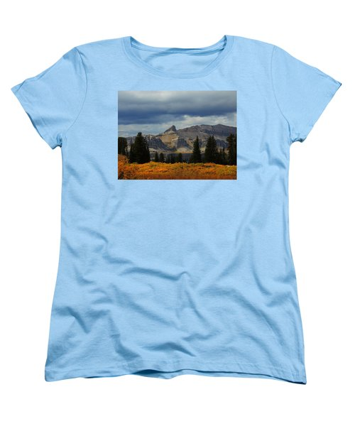 Women's T-Shirt (Standard Cut) featuring the photograph The Wedge by Raymond Salani III