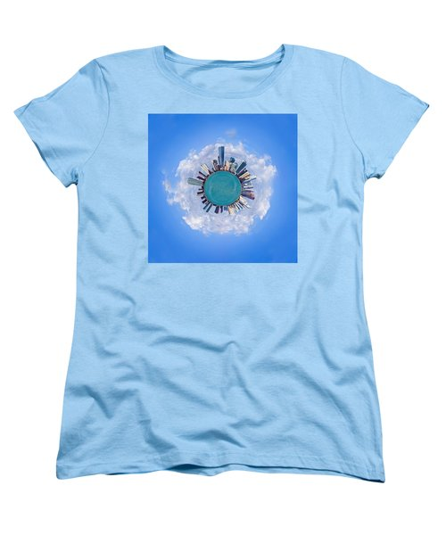 Women's T-Shirt (Standard Cut) featuring the photograph The World Of Miami by Carsten Reisinger