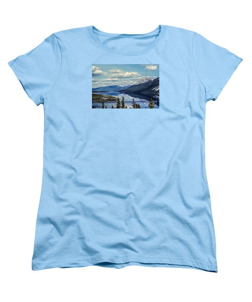The Yukon Women's T-Shirt (Standard Cut) by Suzanne Luft