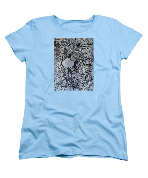Women's T-Shirt (Standard Cut) featuring the painting There Is A Hole In The Bucket by Michael Cross
