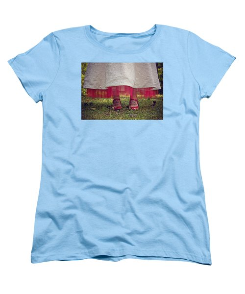 This Place This Time Women's T-Shirt (Standard Cut) by Jessica Brawley