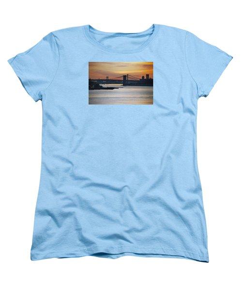 Three Bridges Women's T-Shirt (Standard Cut) by John Schneider