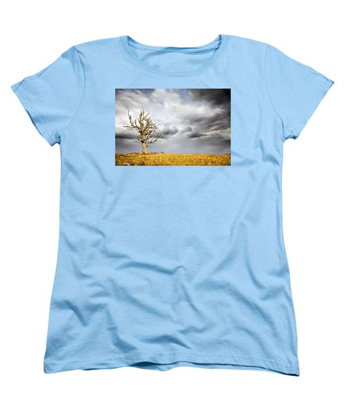 Women's T-Shirt (Standard Cut) featuring the photograph Through The Storms by Lana Trussell