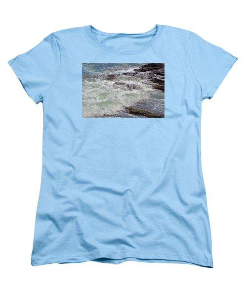 Thunder And Lace Women's T-Shirt (Standard Cut) by Lynda Lehmann