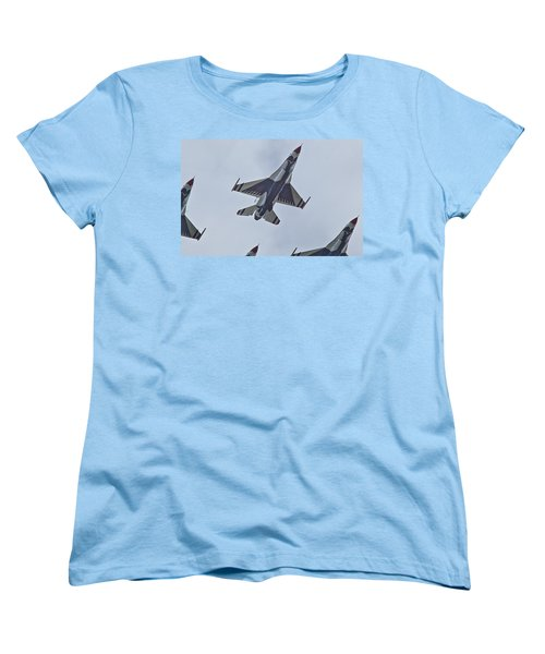 Go Go Thunderbirds Women's T-Shirt (Standard Cut) by Richard Engelbrecht