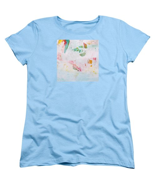 Women's T-Shirt (Standard Cut) featuring the painting Tidal Wash  C2012 by Paul Ashby