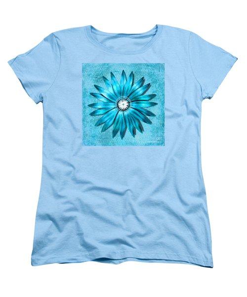 Tiffany Blue And Diamonds Too Women's T-Shirt (Standard Cut) by Saundra Myles