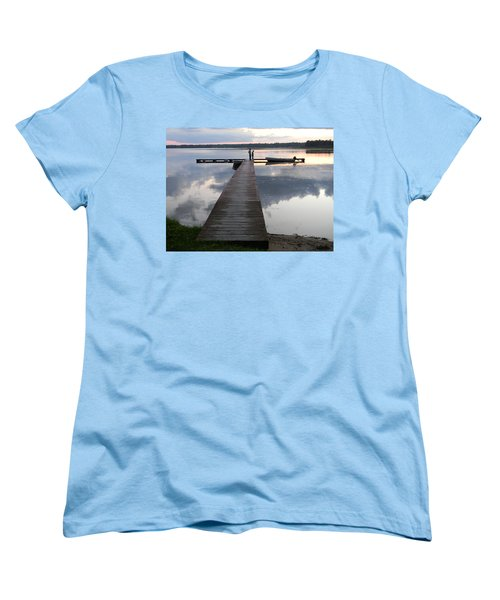 Time For Exploring Women's T-Shirt (Standard Cut) by Mark Minier