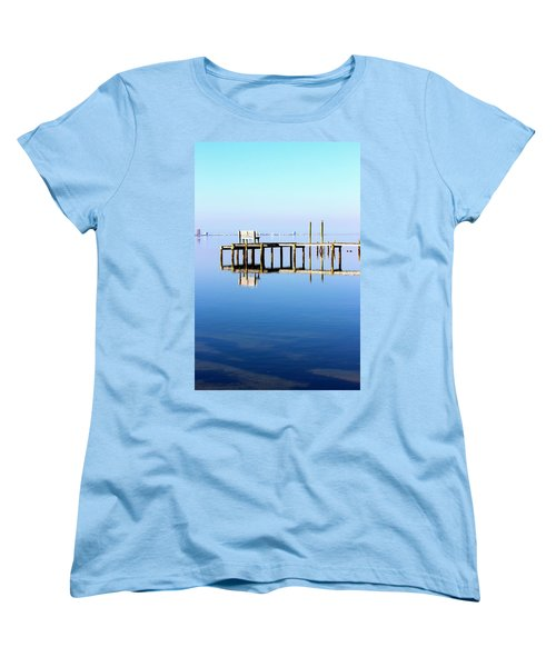 Time To Reflect Women's T-Shirt (Standard Cut) by Faith Williams