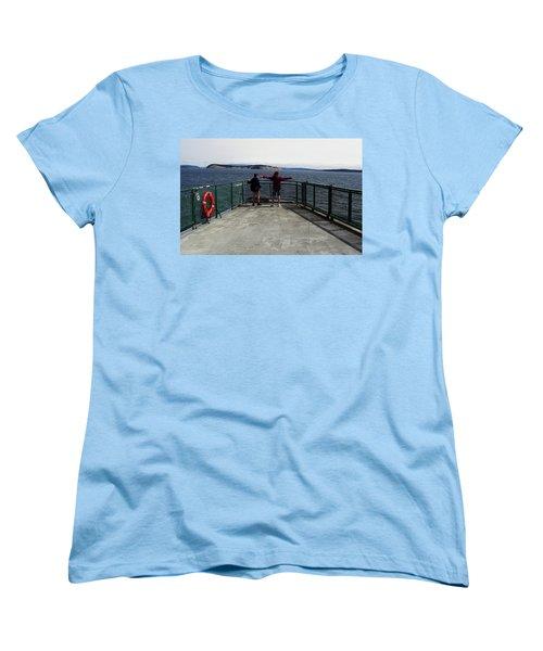 Titanic Influence Women's T-Shirt (Standard Cut) by Natalie Ortiz