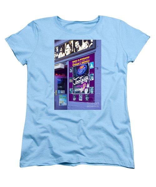 Tootsies Nashville Women's T-Shirt (Standard Cut) by Brian Jannsen