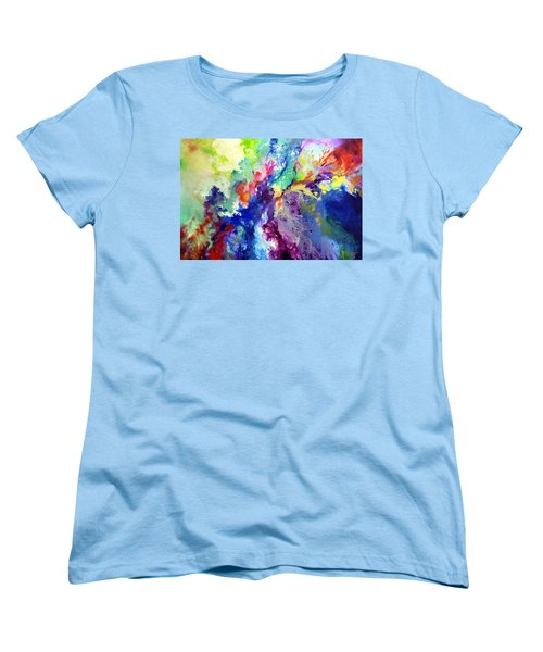 Touch Me Here Women's T-Shirt (Standard Cut) by Sally Trace