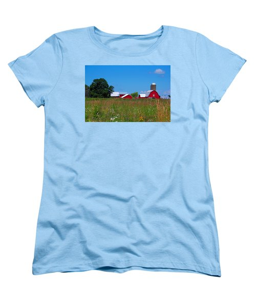 Touch Of Color Women's T-Shirt (Standard Cut) by Dave Files
