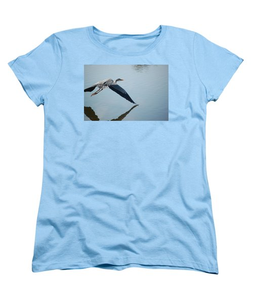Touch The Water With A Wing Women's T-Shirt (Standard Cut)