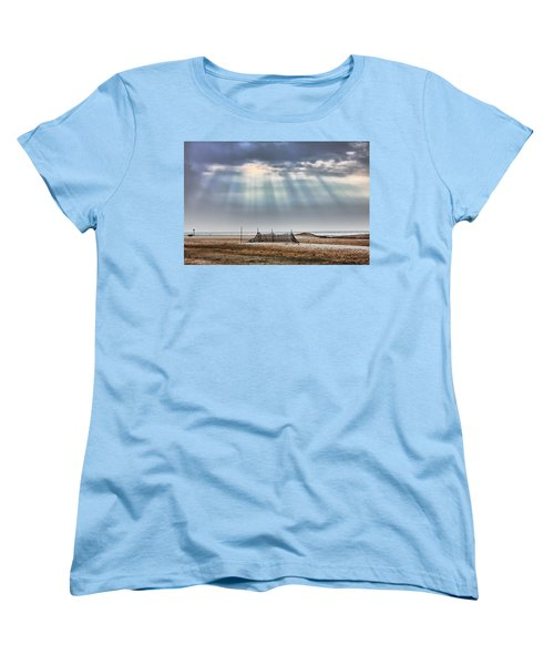 Touched By Heaven Women's T-Shirt (Standard Cut) by Sennie Pierson
