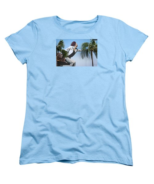 Touching The Canopy.  Women's T-Shirt (Standard Cut) by Menachem Ganon